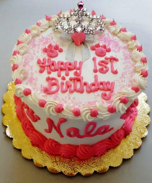 dog birthday cake princess